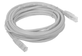 Patchcord UTP cat.5e 3m Grey